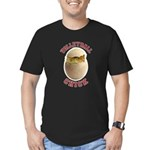 Volleyball Chick 2 Men's Fitted T-Shirt (dark)