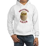 Volleyball Chick 2 Hooded Sweatshirt