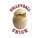 Volleyball Chick 2 Postcards (Package of 8)