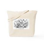 Shortface Tumbler Pigeons Tote Bag