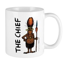 'The Chief' Small Mugs