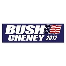 Bush Cheney Bumper Bumper Sticker
