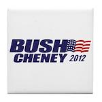 Bush Cheney Tile Coaster
