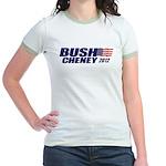 Bush Cheney Jr. Ringer T-Shirt