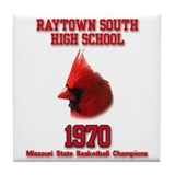 Raytown South 70 Tile Coaster