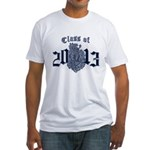 Class of 13 Crest Fitted T-Shirt