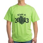 Class of 13 Crest Green T-Shirt