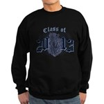 Class of 13 Crest Sweatshirt (dark)