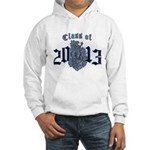 Class of 13 Crest Hooded Sweatshirt