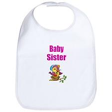 Baby Sister Chick Bib