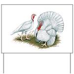 Beltsville White Turkey Yard Sign