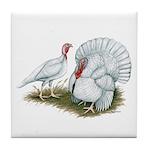 Beltsville White Turkey Tile Coaster