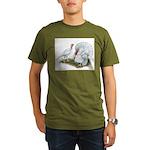 Beltsville White Turkey Organic Men's T-Shirt (dar