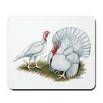 Beltsville White Turkey Mousepad