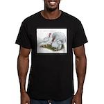 Beltsville White Turkey Men's Fitted T-Shirt (dark