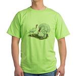 Beltsville White Turkey Green T-Shirt