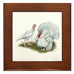 Beltsville White Turkey Framed Tile