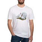 Beltsville White Turkey Fitted T-Shirt