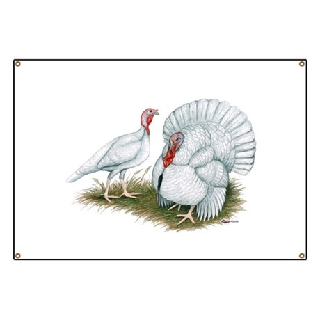 Beltsville White Turkey Banner