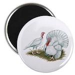 """Beltsville White Turkey 2.25"""" Magnet (10 pack"""