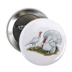 """Beltsville White Turkey 2.25"""" Button"""