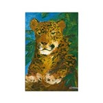 Leopard Tree Rectangle Magnet (100 pack)