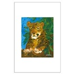 Leopard Tree Large Poster
