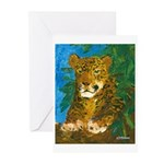 Leopard Tree Greeting Cards (Pk of 10)