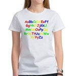 Alphabet in color Women's T-Shirt