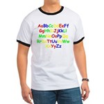 Alphabet in color Ringer T