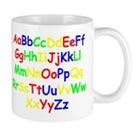 Alphabet in color Mug