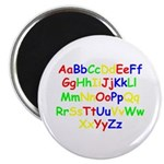 Alphabet in color Magnet