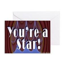 You're a Star! Greeting Cards (Pk of 20)