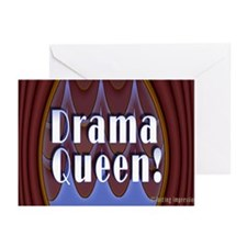 Drama Queen! Greeting Cards (Pk of 10)