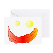 Bacon and Eggs Greeting Cards (Pk of 10)