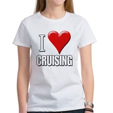 I Love (Heart) Cruising Tee