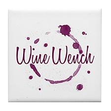 Wine Wench Tile Coaster