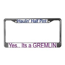 Cool Gremlin License Plate Frame