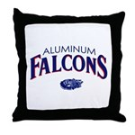 Aluminum Falcons Throw Pillow