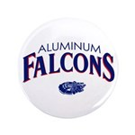 "Aluminum Falcons 3.5"" Button"