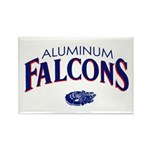 Aluminum Falcons Rectangle Magnet
