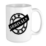 New Arrivals black Large Mug