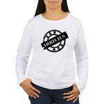 New Arrivals black Women's Long Sleeve T-Shirt