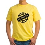 New Arrivals black Yellow T-Shirt