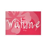 Wahine Rectangle Magnet