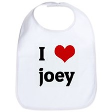 I Love joey Bib