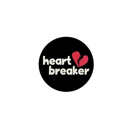 Heart Breaker Mini Button (10 pack)