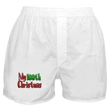 My 100th Christmas Boxer Shorts