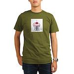 Sexy Cupcake Organic Men's T-Shirt (dark)