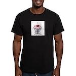 Sexy Cupcake Men's Fitted T-Shirt (dark)